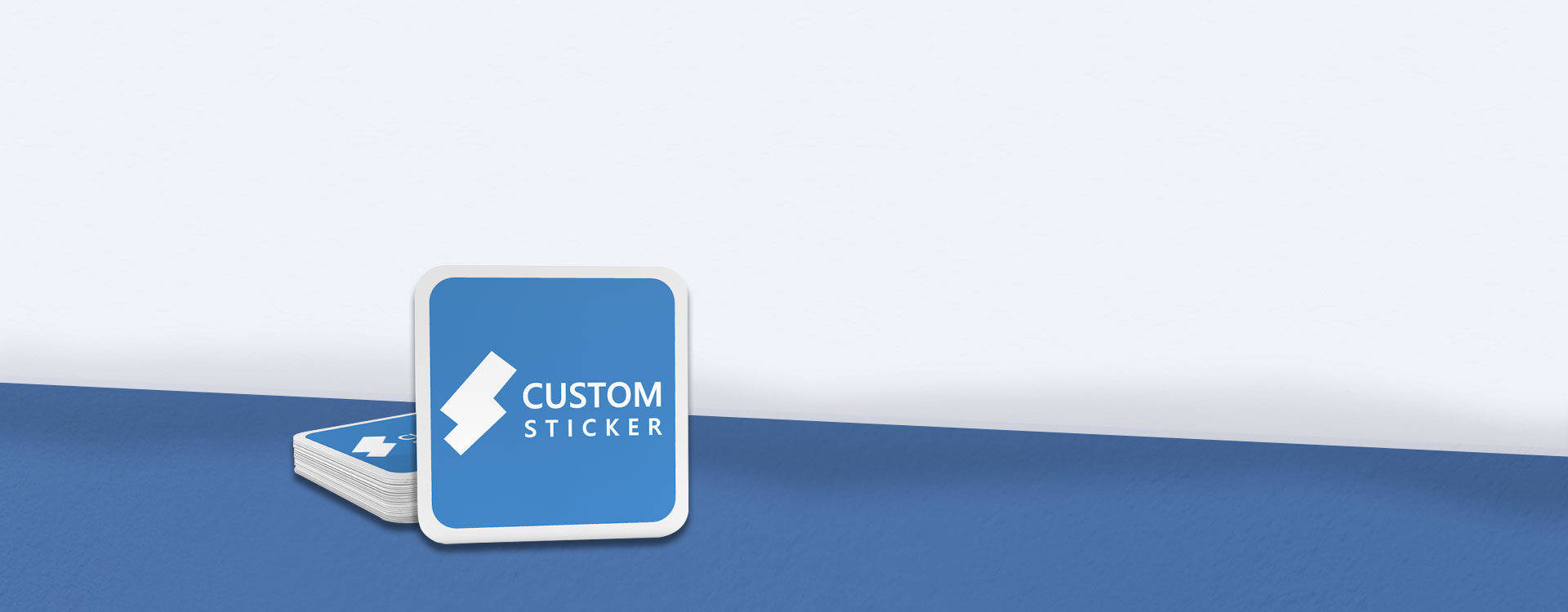 Rounded Corner Stickers